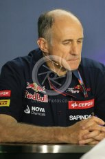 World © Octane Photographic Ltd. FIA Team Personnel Press Conference. Friday 24th July 2015, F1 Hungarian GP, Hungaroring, Hungary. Franz Tost – Scuderia Toro Rosso Team Principle. Digital Ref: 1351LB1D9236