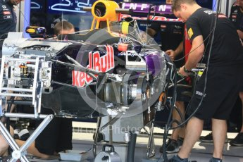 World © Octane Photographic Ltd. Infiniti Red Bull Racing RB1. Thursday 23rd July 2015, F1 Hungarian GP Pitlane, Hungaroring, Hungary. Digital Ref: 1343LB5D0012