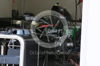 World © Octane Photographic Ltd. McLaren Honda MP4/30. Thursday 23rd July 2015, F1 Hungarian GP Pitlane, Hungaroring, Hungary. Digital Ref: 1343LB5D0061