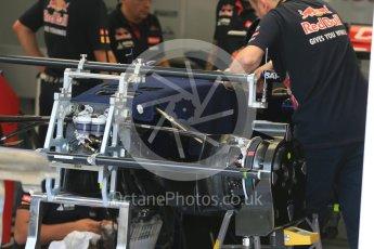 World © Octane Photographic Ltd. Scuderia Toro Rosso STR10. Thursday 23rd July 2015, F1 Hungarian GP Pitlane, Hungaroring, Hungary. Digital Ref: 1343LB5D0094