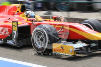 World © Octane Photographic Ltd. Friday 24th July 2015. Racing Engineering – Jordan King. GP2 Practice Session – Hungaroring, Hungary. Digital Ref. : 1347CB1L5073