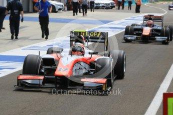 World © Octane Photographic Ltd. Friday 24th July 2015. MP Motorsport – Daniel de Jong. GP2 Practice Session – Hungaroring, Hungary. Spain. Digital Ref. : 1347CB1L5079