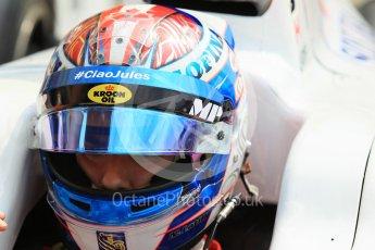 World © Octane Photographic Ltd. Friday 24th July 2015. MP Motorsport – Nicohlas Latifi. GP2 Practice Session – Hungaroring, Hungary. Digital Ref. : 1347CB1L5232