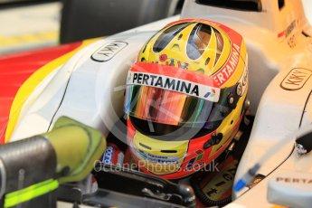 World © Octane Photographic Ltd. Friday 24th July 2015. Campos Racing – Rio Haryanto. GP2 Practice Session – Hungaroring, Hungary. Digital Ref. : 1347CB1L5249
