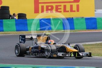 World © Octane Photographic Ltd. Friday 24th July 2015. DAMS – Alex Lynn. GP2 Practice Session – Hungaroring, Hungary. Digital Ref. :