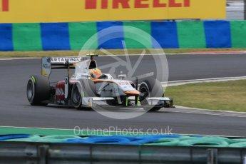 World © Octane Photographic Ltd. Friday 24th July 2015. Campos Racing – Rio Haryanto. GP2 Practice Session – Hungaroring, Hungary. Digital Ref. :