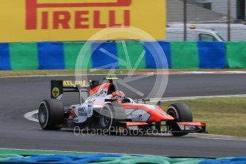 World © Octane Photographic Ltd. Friday 24th July 2015. MP Motorsport – Daniel de Jong. GP2 Practice Session – Hungaroring, Hungary. Spain. Digital Ref. :