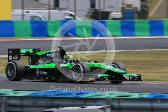 World © Octane Photographic Ltd. Friday 24th July 2015. Status Grand Prix – Marlon Stockinger. GP2 Practice Session – Hungaroring, Hungary. Digital Ref. :