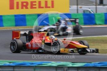 World © Octane Photographic Ltd. Friday 24th July 2015. Racing Engineering – Jordan King. GP2 Practice Session – Hungaroring, Hungary. Digital Ref. :