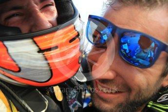 World © Octane Photographic Ltd. Saturday 25th July 2015. DAMS – Alex Lynn (1st). GP2 Race 1 parc ferme – Hungaroring, Hungary. Digital Ref. : 1354LW1L6713