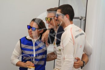 World © Octane Photographic Ltd. Friday 24th July 2015. Campos Racing – Samin Gomez, Alex Palou and Zaid Ashkanani. GP3 Practice Session – Hungaroring, Hungary. Digital Ref. : 1350CB1L5871
