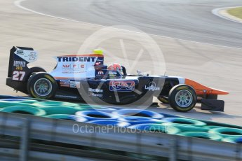 World © Octane Photographic Ltd. Friday 24th July 2015. Trident – Luca Ghiotto. GP3 Practice Session – Hungaroring, Hungary. Digital Ref. : 1350CB1L6141