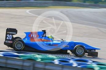World © Octane Photographic Ltd. Friday 24th July 2015. Jenzer Motorsport – Pal Varhaug. GP3 Practice Session – Hungaroring, Hungary. Digital Ref. : 1350CB1L6180