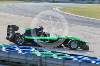 World © Octane Photographic Ltd. Friday 24th July 2015. Status Grand Prix – Seb Morris. GP3 Practice Session – Hungaroring, Hungary. Digital Ref. : 1350CB1L6186