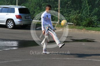 World © Octane Photographic Ltd. Friday 24th July 2015. Carlin – Jann Mardenborough. GP3 Practice Session – Hungaroring, Hungary. Digital Ref. : 1350CB7D8206