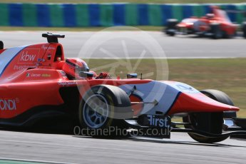 World © Octane Photographic Ltd. Saturday 25th July 2015. Arden International – Kevin Ceccon. GP3 Qualifying – Hungaroring, Hungary. Digital Ref. : 1353LB1D9535