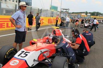 World © Octane Photographic Ltd. Saturday 25th July 2015. Arden International – Emil Bernstorff. GP3 Race 1 – Hungaroring, Hungary. Digital Ref. :