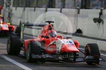 World © Octane Photographic Ltd. Friday 4th September 2015. Arden International – Kevin Ceccon. GP3 Practice - Monza, Italy. Digital Ref. : 1410LB1D0129