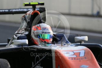 World © Octane Photographic Ltd. Friday 4th September 2015. Trident – Luca Ghiotto. GP3 Practice - Monza, Italy. Digital Ref. :1410LB1D0240