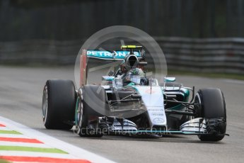 World © Octane Photographic Ltd. Mercedes AMG Petronas F1 W06 Hybrid – Nico Rosberg. Friday 4th September 2015, F1 Italian GP Practice 1, Monza, Italy. Digital Ref: 1405LB7D5865
