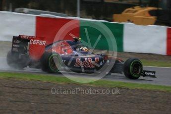 World © Octane Photographic Ltd. Scuderia Toro Rosso STR10 – Carlos Sainz Jnr. Friday 25th September 2015, F1 Japanese Grand Prix, Practice 2, Suzuka. Digital Ref: