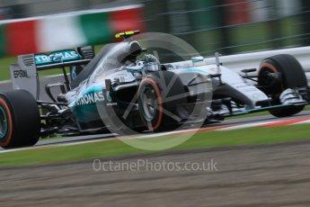 World © Octane Photographic Ltd. Mercedes AMG Petronas F1 W06 Hybrid – Nico Rosberg. Saturday 26th September 2015, F1 Japanese Grand Prix, Practice 3, Suzuka. Digital Ref: