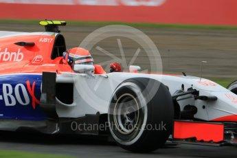 World © Octane Photographic Ltd. Manor Marussia F1 Team MR03B – Alexander Rossi. Saturday 26th September 2015, F1 Japanese Grand Prix, Practice 3, Suzuka. Digital Ref: