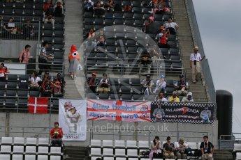World © Octane Photographic Ltd. Fans flags. Saturday 26th September 2015, F1 Japanese Grand Prix, Practice 3, Suzuka. Digital Ref: