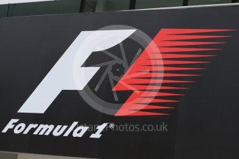 World © Octane Photographic Ltd. F1 logo. Saturday 26th September 2015, F1 Japanese Grand Prix, Practice 3, Suzuka. Digital Ref: