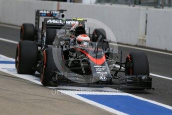 World © Octane Photographic Ltd. McLaren Honda MP4/30 - Jenson Button and Williams Martini Racing FW37 – Felipe Massa. Saturday 26th September 2015, F1 Japanese Grand Prix, Practice 3, Suzuka. Digital Ref: