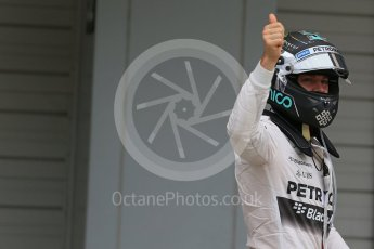 World © Octane Photographic Ltd. Mercedes AMG Petronas – Nico Rosberg (Pole). Saturday 26th September 2015, F1 Japanese Grand Prix, Qualifying, Suzuka. Digital Ref: