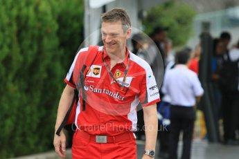 World © Octane Photographic Ltd. Scuderia Ferrari – James Allison. Sunday 27th September 2015, F1 Japanese Grand Prix, Setup, Suzuka. Digital Ref: 1448CB7D7589