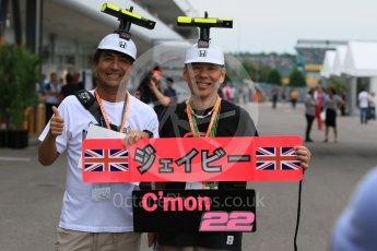 World © Octane Photographic Ltd. McLaren Honda - On Car Camera fans. Sunday 27th September 2015, F1 Japanese Grand Prix, Setup, Suzuka. Digital Ref: 1448CB7D7928