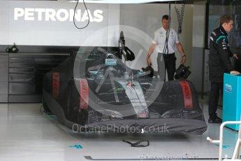 World © Octane Photographic Ltd. Mercedes AMG Petronas F1 W06 Hybrid – Nico Rosberg. Sunday 27th September 2015, F1 Japanese Grand Prix, Setup, Suzuka. Digital Ref: 1448LB1D3774
