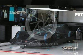 World © Octane Photographic Ltd. Mercedes AMG Petronas F1 W06 Hybrid – Lewis Hamilton. Sunday 27th September 2015, F1 Japanese Grand Prix, Setup, Suzuka. Digital Ref: 1448LB1D3779