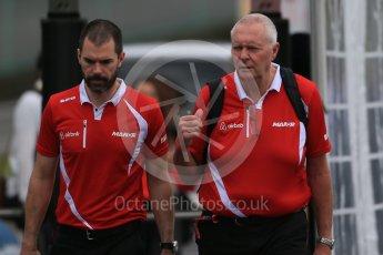 World © Octane Photographic Ltd. Manor Marussia F1 Team - John Booth. Sunday 27th September 2015, F1 Japanese Grand Prix, Setup, Suzuka. Digital Ref: 1448LB1D4097