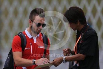World © Octane Photographic Ltd. Manor Marussia F1 Team MR03B – William Stevens. Sunday 27th September 2015, F1 Japanese Grand Prix, Setup, Suzuka. Digital Ref: 1448LB1D4259