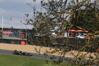 World © Octane Photographic Ltd. Lotus F1 Team E23 Hybrid - Romain Grosjean. Lotus filming day at Brands Hatch. Digital Ref: 1238LB1D5080