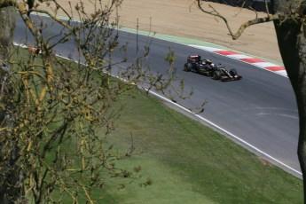 World © Octane Photographic Ltd. Lotus F1 Team E23 Hybrid - Romain Grosjean. Lotus filming day at Brands Hatch. Digital Ref: 1238LB1D5086