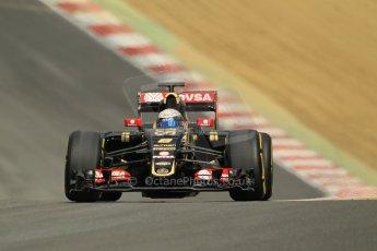 World © Octane Photographic Ltd. Lotus F1 Team E23 Hybrid - Romain Grosjean. Lotus filming day at Brands Hatch. Digital Ref: 1238LW1L5029