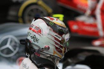 World © Octane Photographic Ltd. Mercedes AMG Petronas F1 W06 Hybrid – Lewis Hamilton. Sunday 24th May 2015, F1 Race - Podium, Monte Carlo, Monaco. Digital Ref: 1287CB7D8059