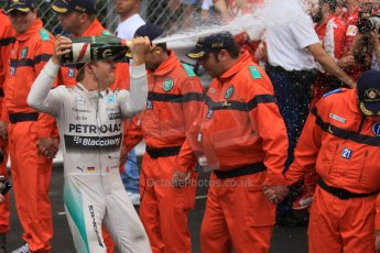 World © Octane Photographic Ltd. Mercedes AMG Petronas F1 W06 Hybrid – Nico Rosberg. Sunday 24th May 2015, F1 Race - Podium, Monte Carlo, Monaco. Digital Ref: 1287CB7D8271