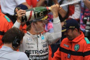 World © Octane Photographic Ltd. Mercedes AMG Petronas F1 W06 Hybrid – Nico Rosberg. Sunday 24th May 2015, F1 Race - Podium, Monte Carlo, Monaco. Digital Ref: 1287CB7D8277