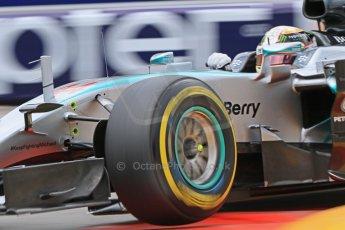 World © Octane Photographic Ltd. Mercedes AMG Petronas F1 W06 Hybrid – Lewis Hamilton. Thursday 21st May 2015, F1 Practice 2, Monte Carlo, Monaco. Digital Ref: 1274CB7D3523