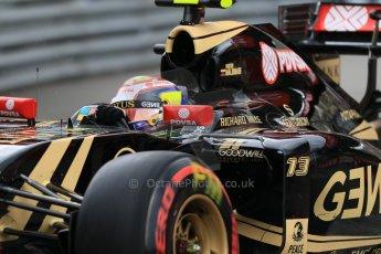 World © Octane Photographic Ltd. Lotus F1 Team E23 Hybrid – Pastor Maldonado. Thursday 21st May 2015, F1 Practice 2, Monte Carlo, Monaco. Digital Ref: 1274CB7D3728