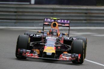 World © Octane Photographic Ltd. Infiniti Red Bull Racing RB11 – Daniil Kvyat. Thursday 21st May 2015, F1 Practice 2, Monte Carlo, Monaco. Digital Ref: 1274LB1D3905