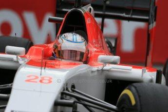 World © Octane Photographic Ltd. Manor Marussia F1 Team MR03 – William Stevens. Thursday 21st May 2015, F1 Practice 2, Monte Carlo, Monaco. Digital Ref: 1274LB1D4095