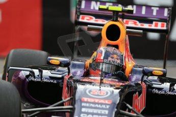 World © Octane Photographic Ltd. Infiniti Red Bull Racing RB11 – Daniil Kvyat. Thursday 21st May 2015, F1 Practice 2, Monte Carlo, Monaco. Digital Ref: 1274LB1D4111