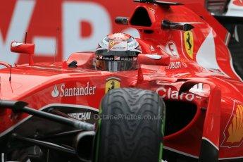World © Octane Photographic Ltd. Scuderia Ferrari SF15-T– Kimi Raikkonen. Thursday 21st May 2015, F1 Practice 2, Monte Carlo, Monaco. Digital Ref: 1274LB1D4226