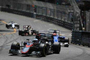 World © Octane Photographic Ltd. McLaren Honda MP4/30 – Fernando Alonso. Sunday 24th May 2015, F1 Race, Monte Carlo, Monaco. Digital Ref: 1286LB1D8206